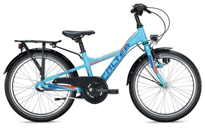 Kinder / Jugend FALTER FX 203 Y-Lite light blue-orange 2021