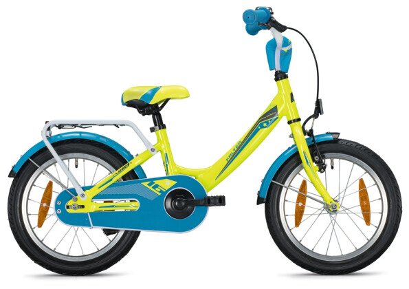 """Kinder / Jugend FALTER FX 100 16"""" Wave neon yellow-anthracite 2021"""