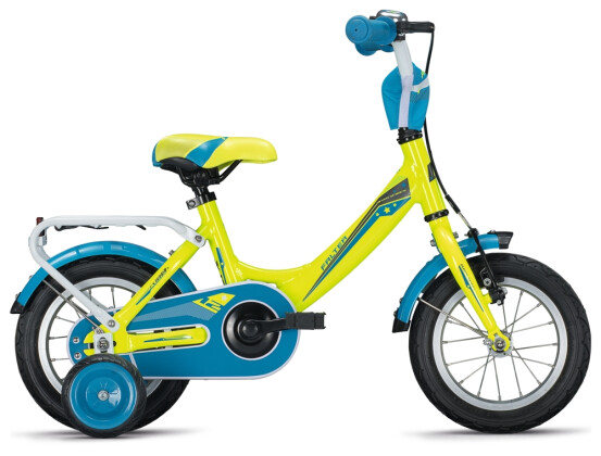 """Kinder / Jugend FALTER FX 100 12"""" Wave neon yellow-anthracite 2021"""