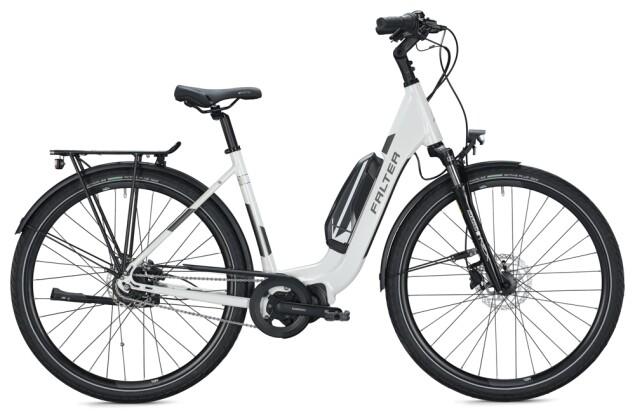 e-Citybike FALTER E 8.2 FL 500 Wave white-grey 2021