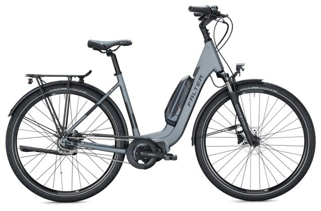 e-Citybike FALTER E 8.2 RT 400 Wave anthracite-grey 2021