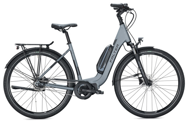 e-Citybike FALTER E 8.2 FL 400 Wave anthracite-grey 2021