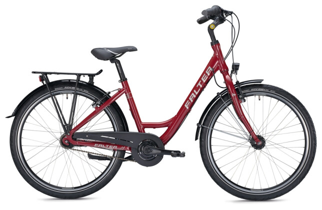 Citybike FALTER C 3.0 Wave red 2021