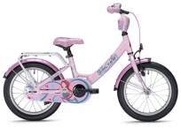 """Kinder / Jugend FALTER MERMAID 16"""" Wave pink"""