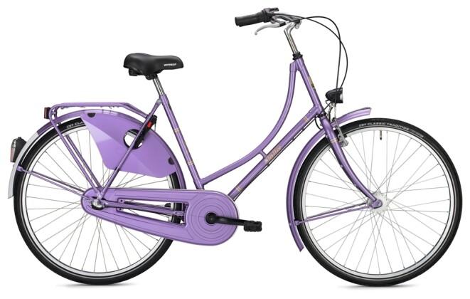 Hollandrad FALTER H 1.0 Classic pearl purple 2021