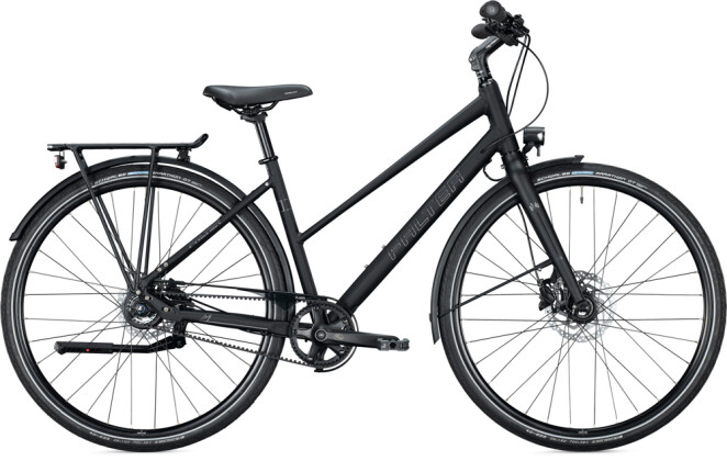 Urban-Bike FALTER U 8.0 Trapez sublime black 2021