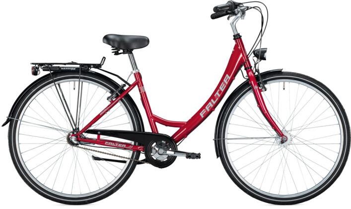 Citybike FALTER C 1.0 Wave bordeaux 2021