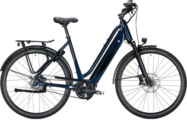 e-Citybike FALTER E 9.8 RT PLUS Wave dark blue-black 2021