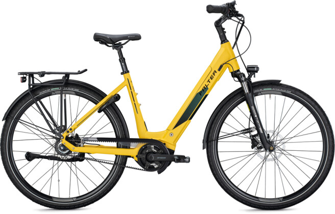 e-Citybike FALTER E 9.8 FL Wave curry-black 2021