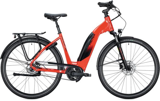 e-Citybike FALTER E 9.5 RT Wave planet red 2021