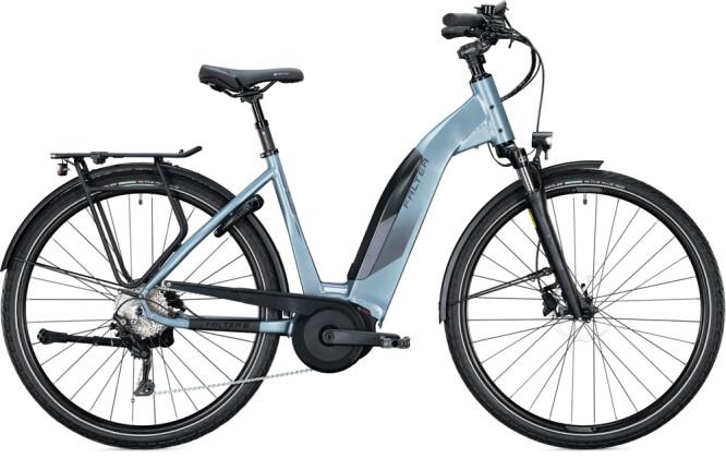 e-Citybike FALTER E 9.5 KS Wave steel blue 2021