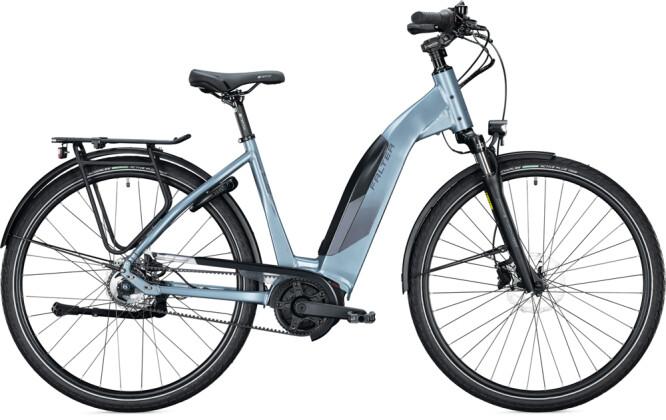 e-Citybike FALTER E 9.5 FL Wave steel blue 2021