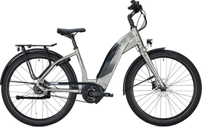 e-Citybike FALTER E 9.4 SUB FL Wave sparkling titanium 2021
