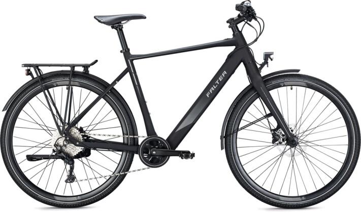 e-Trekkingbike FALTER E 9.0 URBAN Diamant sublime black 2021