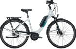 e-Citybike FALTER E 9.0 RT 500 Wave white-turquoise