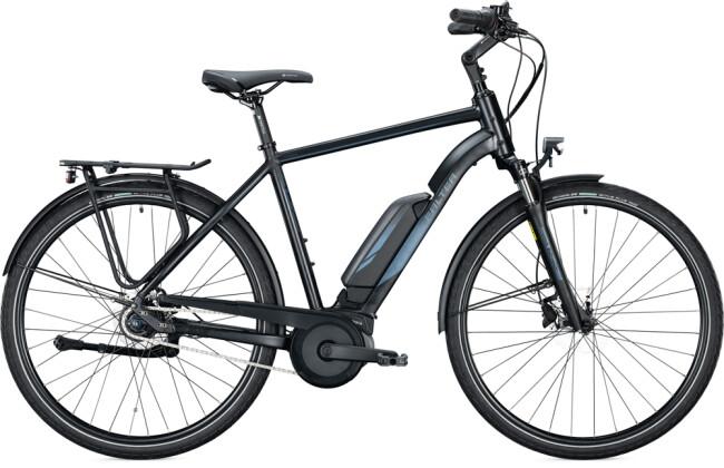 e-Citybike FALTER E 9.0 RT 500 Diamant black-dark blue 2021