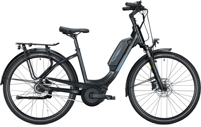 e-Citybike FALTER E 9.0 FL 400 Wave black-dark blue 2021