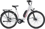 e-Citybike FALTER E 8.2 FL 400 Wave white-bordeaux