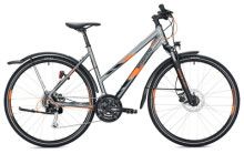 Trekkingbike MORRISON X 2.0 Trapez grey-orange