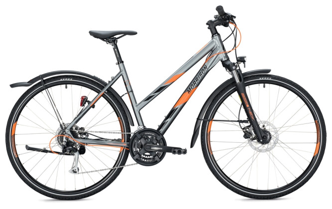 Trekkingbike MORRISON X 2.0 Trapez grey-orange 2021