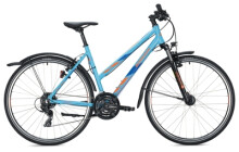 Trekkingbike MORRISON X 1.0 Trapez light blue-dark blue