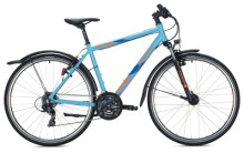 Trekkingbike MORRISON X 1.0 Diamant light blue-dark blue