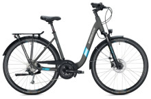 Trekkingbike MORRISON T 5.0 PLUS Wave titanium-blue