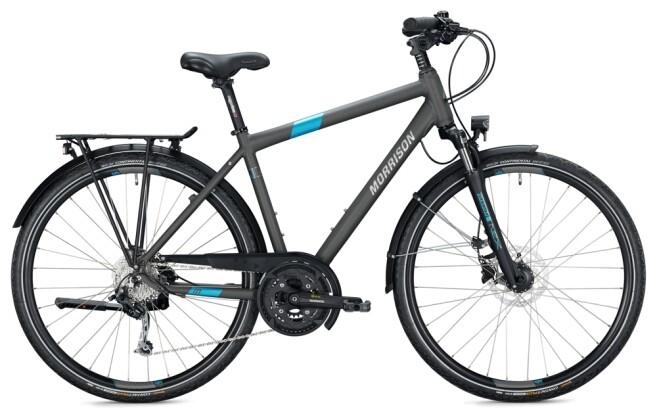 Trekkingbike MORRISON T 5.0 PLUS Diamant titanium-blue 2021