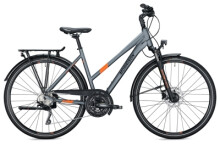 Trekkingbike MORRISON T 5.0 Trapez grey-orange
