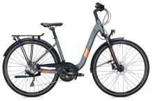 Trekkingbike MORRISON T 5.0 Wave grey-orange