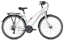 Trekkingbike MORRISON T 1.0 Trapez white