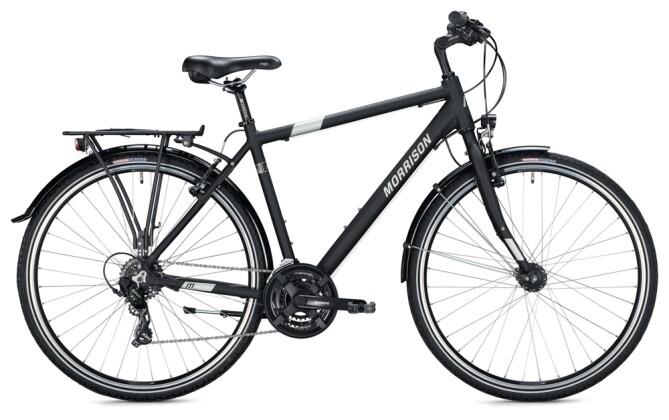 Trekkingbike MORRISON T 1.0 Diamant black 2021