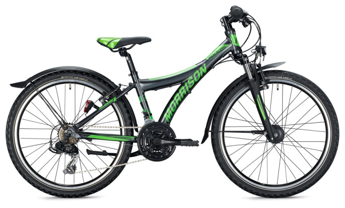 Kinder / Jugend MORRISON MESCALERO S24 Y-Type anthracite-green 2021