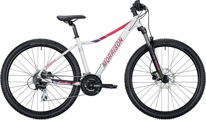 Mountainbike MORRISON IMALA Deep Diamant pearled white 2021