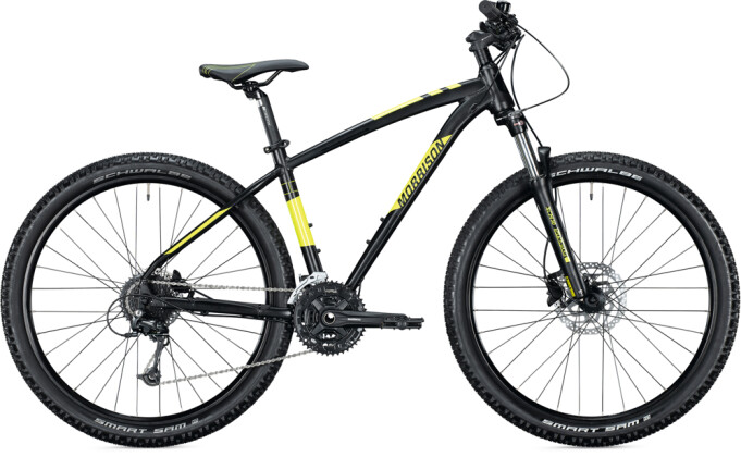 "Mountainbike MORRISON BLACKFOOT 27,5"" Diamant toxic black 2021"