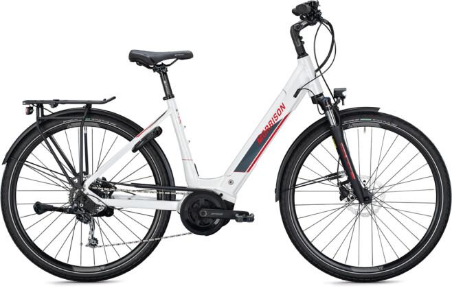 e-Trekkingbike MORRISON E 7.0 Wave white-red 2021