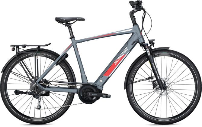 e-Trekkingbike MORRISON E 7.0 Diamant anthracite-white 2021