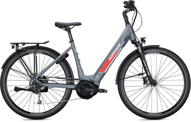 e-Trekkingbike MORRISON E 7.0 Wave anthracite-white 2021