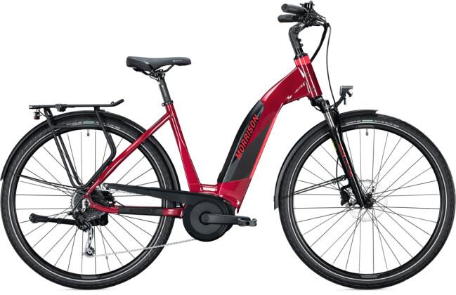 e-Trekkingbike MORRISON E 6.0 Wave dark red metallic 2021