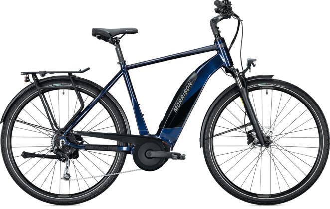 e-Trekkingbike MORRISON E 6.0 Diamant dark blue 2021