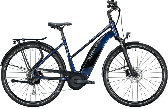 e-Trekkingbike MORRISON E 6.0 Trapez dark blue 2021