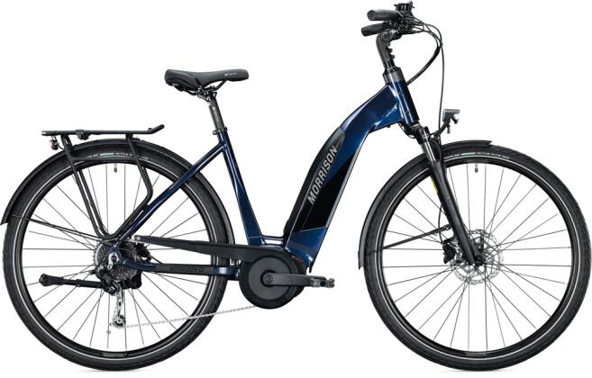 e-Trekkingbike MORRISON E 6.0 Wave dark blue 2021