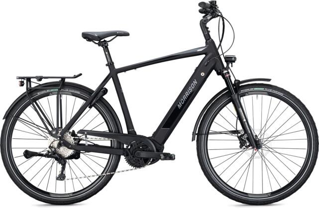 e-Trekkingbike MORRISON E 10.0 Diamant black-chrome 2021