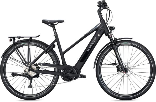 e-Trekkingbike MORRISON E 10.0 Trapez black-chrome 2021