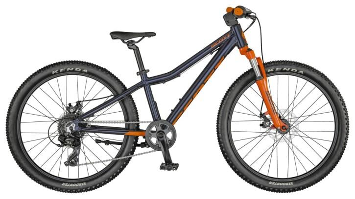Kinder / Jugend Scott Scale 24 Disc Bike Cobalt Blue 2021
