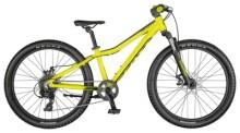Kinder / Jugend Scott Scale 24 Disc Bike Yellow