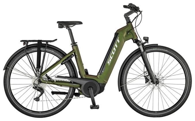 e-Trekkingbike Scott Sub Tour eRIDE 10 Unisex-Bike 2021