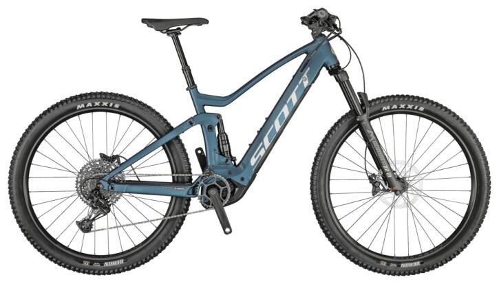 e-Mountainbike Scott Strike eRIDE 930Bike blau 2021