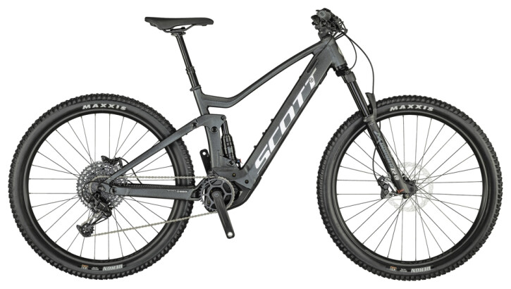 e-Mountainbike Scott Strike eRIDE 930 Bike schwarz 2021