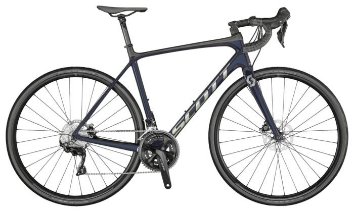Race Scott Addict 20 Disc Bike Stellar Blue 2021